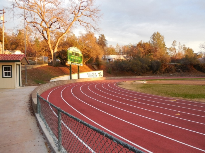 Finish at Placer High School
